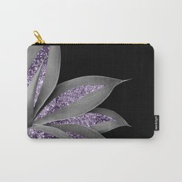 Agave Finesse Glitter Glam #3 #tropical #decor #art #society6 Carry-All Pouch