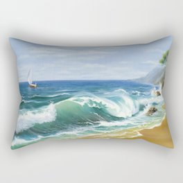 Crimea Rectangular Pillow