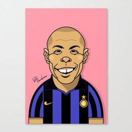 Ronaldo, Inter Milan Canvas Print