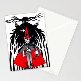 He is too lost Stationery Cards