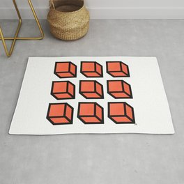 Original Geometric Art Rug
