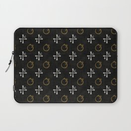 Vampires symbols Laptop Sleeve