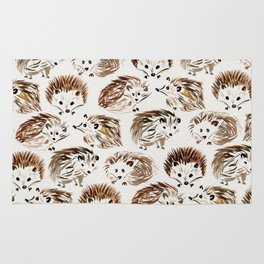 Hedgehogs Rug