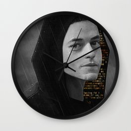 -Elliot- Wall Clock