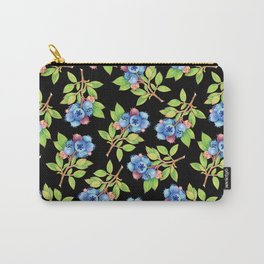 Wild Blueberry Sprigs Carry-All Pouch