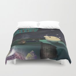 Earthbound - Greetings From Saturn Valley Duvet Cover