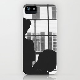 Silhouettes In Window iPhone Case