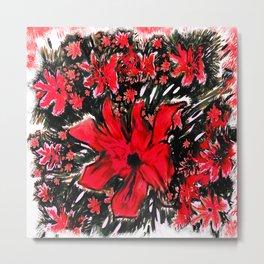 Redder Flower Metal Print