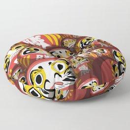 Daruma dolls Floor Pillow