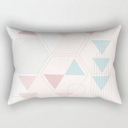 Geometry Art Rectangular Pillow