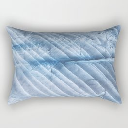 Gently blue clouds watercolor design Rectangular Pillow