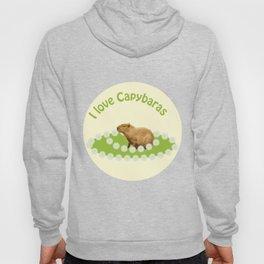 I love Capybaras Hoody
