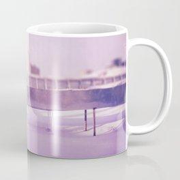 Purple winter city Coffee Mug