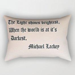 Light Shines Rectangular Pillow