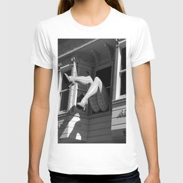 Amazing Legs Out Of A Window T-shirt