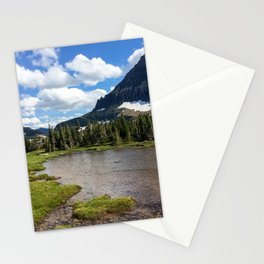 Mountain Bliss in Summer Stationery Cards