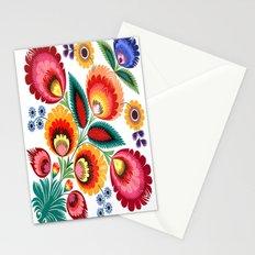 Slavic Folk Pattern Stationery Cards