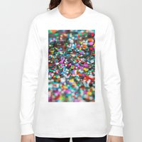 confetti Long Sleeve T-shirts featuring Confetti by Laura Ruth