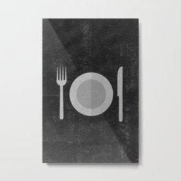 Hungry Metal Print