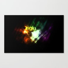 Origin Canvas Print