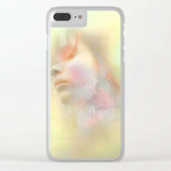 Girl of May Clear iPhone Case