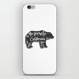 Boho Yosemite California Bear iPhone Skin