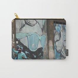 Cuban Streetart - Cool Blue Carry-All Pouch