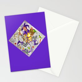 Peace, Plenty and Happiness Fool Stationery Cards