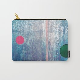 Metallic Face (Blue Version) Carry-All Pouch