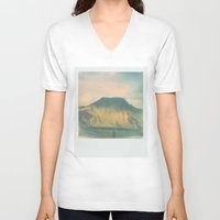 iceland V-neck T-shirts featuring Morning Iceland by Richard PJ Lambert