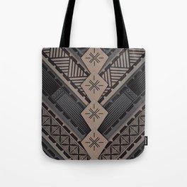 UrbanNesian V Tatau Design Tote Bag