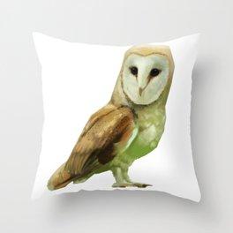 Owl 02 Throw Pillow