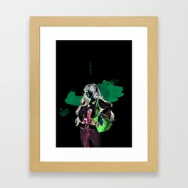 Tomoyo Daidouji - Fan Art Card Captor Sakura Framed Art Print