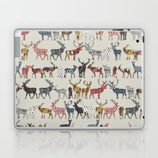 oatmeal spice deer Laptop & iPad Skin