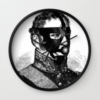 bdsm Wall Clocks featuring BDSM XVI by DIVIDUS