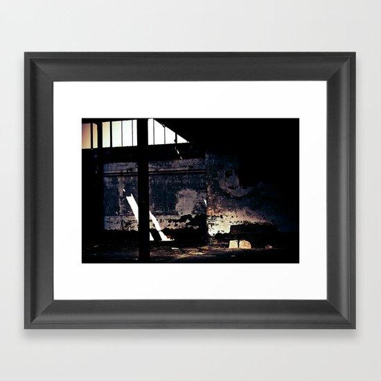 Decline Framed Art Print
