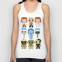 fifth element Tank Tops featuring The Fifth Element Customs by SpaceWaffle