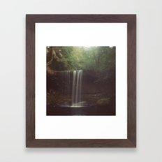 Beaver Falls Framed Art Print