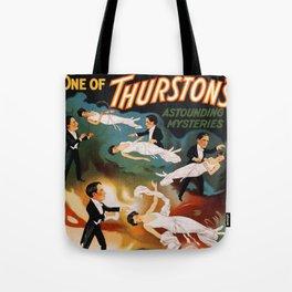 Vintage Magician Thurston Levitation Tote Bag