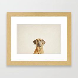 Hello my name is Hector Framed Art Print