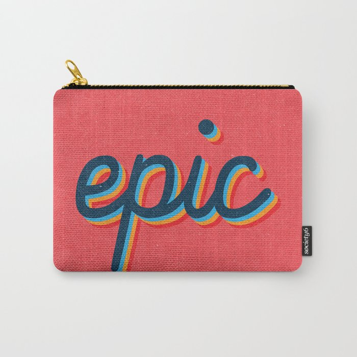 Epic - pink version Carry-All Pouch