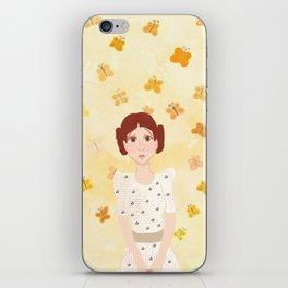 goodbye, butterfly iPhone Skin