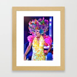 Shake Your Groove Thing Framed Art Print