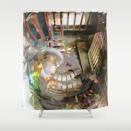 Faint Shower Curtain