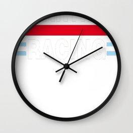 Martini-Racing Wall Clock