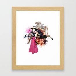 Collag2Nim Framed Art Print