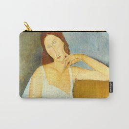 "Amedeo Modigliani ""Jeanne Hebuterne"" Carry-All Pouch"