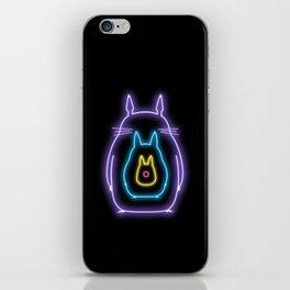 My Neon Neighbors  (Totoro) iPhone Skin