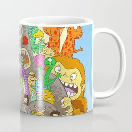 It's a small world full of assorted critters Coffee Mug