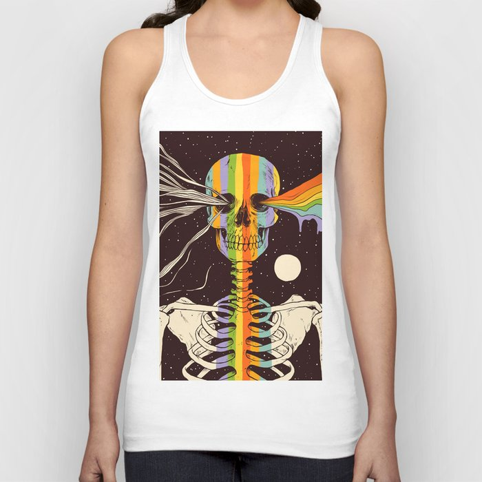 Dark Side of Existence Unisex Tank Top